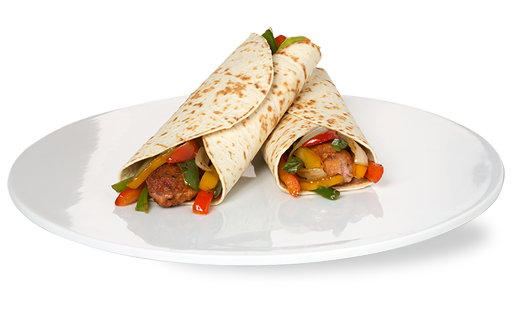 CHICKEN, BASIL AND ROASTED PEPPERS KEBAB