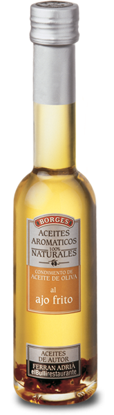 Borges - aromatic olive oil with fried garlic