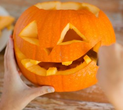 Borges - Tip: how to Make a Halloween Pumpkin