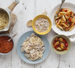 Borges - Four pasta recipes for unexpected visits