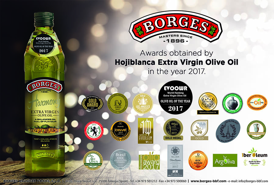 Borges Harmony - top Extra Virgin Olive Oils