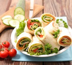 Wraps - key to not wasting food
