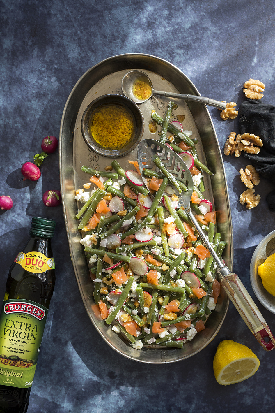 Quick and easy green bean salad